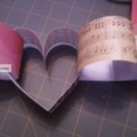 Valentine Paper Heart Wreath/Garland