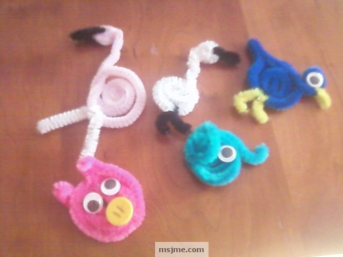 Pipe cleaner crafts animals images for Pipe craft