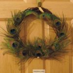 Peacock Feather Wreaths