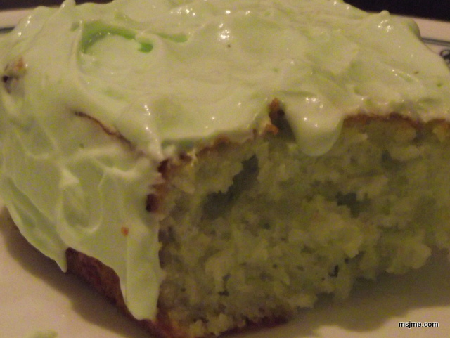 Grinch Cake Aka Pistachio Pudding Cake Just My Experience