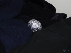 aluminum foil dryer ball