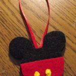 Mouse Felt Ornament