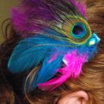 Thyca Peacock Hair Clip